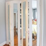 : 6 panel interior door with glass adds your home interior some romantic classicism