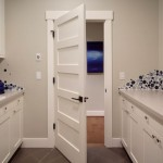 : 8 foot 5 panel interior doors design is often chosen in modern homes