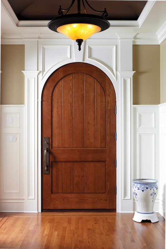 8 Foot Arched Interior Doors Add Gorgeous Elegance To Your