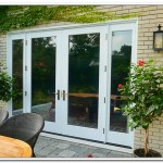 : 8 foot wide interior French doors add maximum light to the room