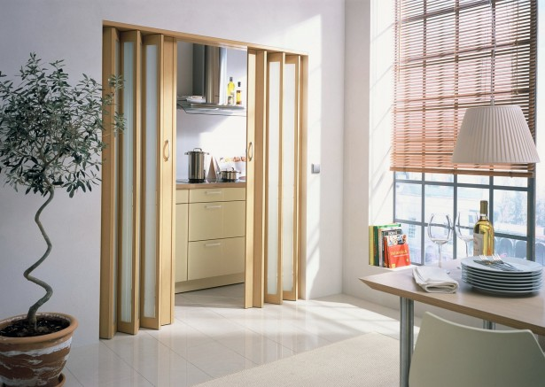 Custom wood glass panel interior door can be ordered online