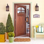 : Decorate front door entry is designed for contemporary houses