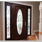 : Decorative glass front entry doors are very esthetic