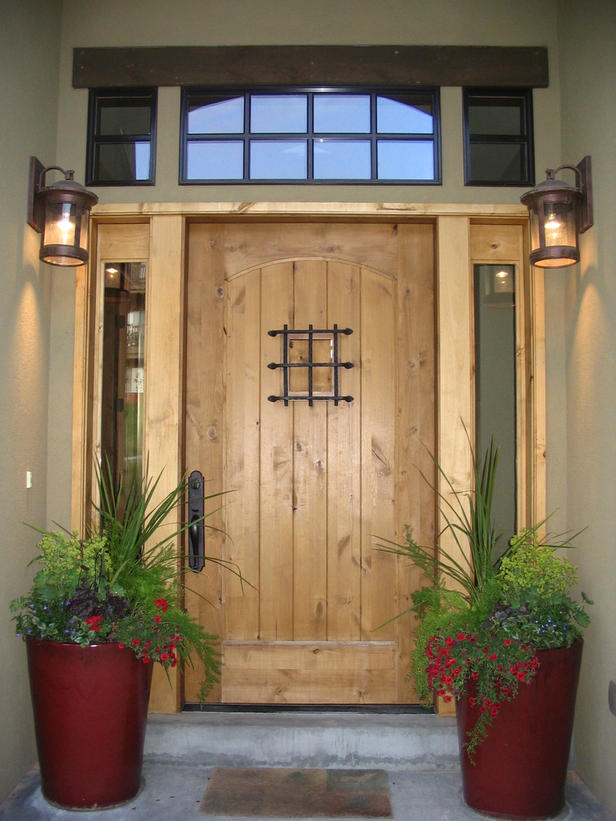 Exterior doors for sale in UK are offered in variety of designs