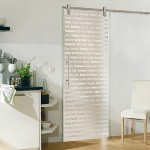: Glass interior door in mission style have always been in fashion