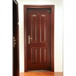 : High security interior door equipped with the latest wireless lock technologies