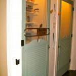 : Indoor screen door for baby room can be found and ordered online for less