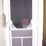 Indoor screen door for baby room will keep the cats which live in your home out