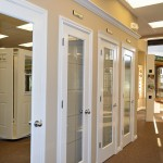 : Insulated glass interior doors are efficiently designed and beautiful