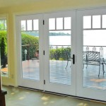 : Insulated interior french doors combine eye catching design and protective functions