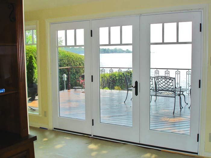 Insulated Interior French Doors Combine Eye Catching Design And