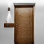 : Insulated interior wood doors look elegant and sophisticated