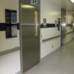 Interior metal security door to protect your facility