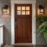 : Interior mount security door is available in several configurations – inside mount or surface mount