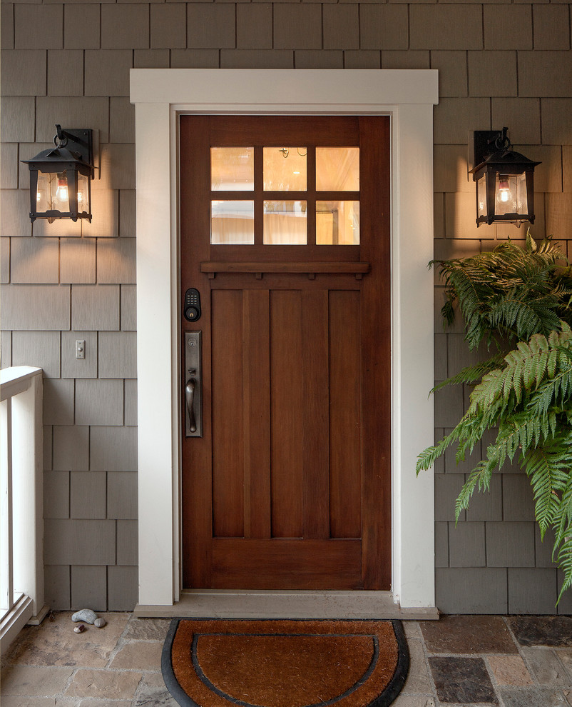 Interior mount security door is available in several configurations - inside mount or surface mount