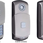 Keyless entry security interior door lock is the latest safety technology