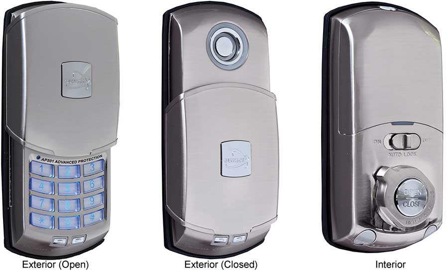 Keyless Entry Security Interior Door Lock Is The Latest Safety