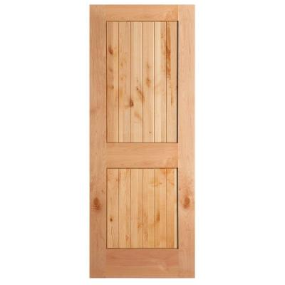 Knotty alder interior door slabs  experience the warmth and beauty of natural wood