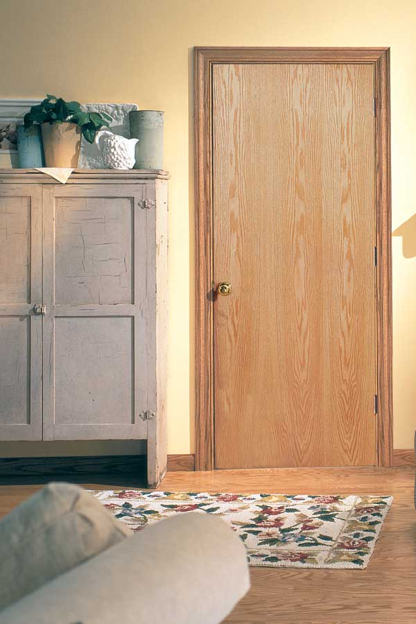 Lauan flush interior door slabs made of smooth flush fine hardwood core