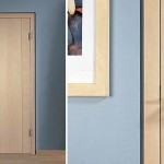 : Maple interior wood doors can be left unpainted