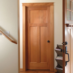 : Mission style house doors fit into any home interior
