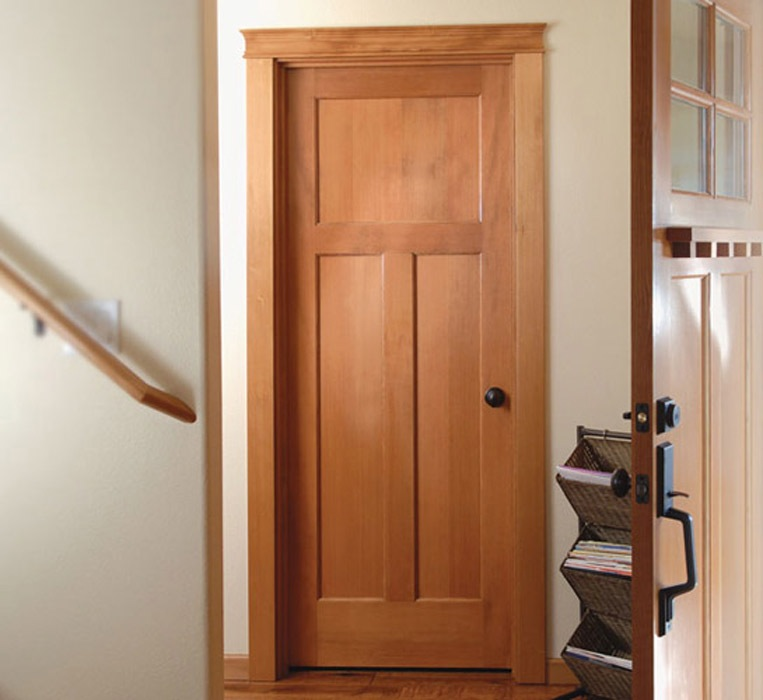Mission Style House Doors Fit Into Any Home Interior Interior