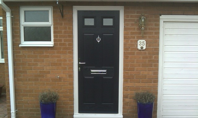 Old front doors for sale in UK made be redesigned and personalized