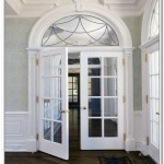 : Prehung glass panel interior door is easy to install