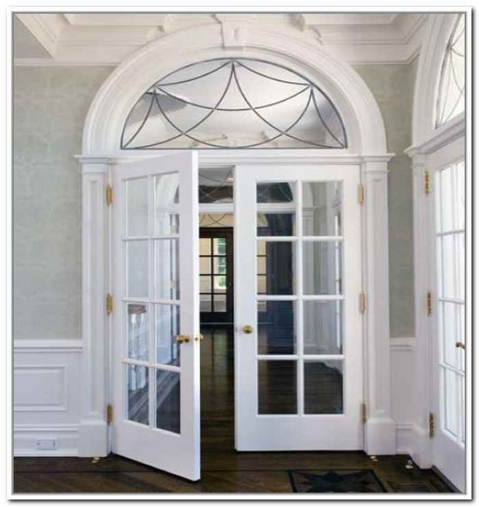 Prehung Glass Panel Interior Door Is Easy To Install