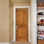 : Rustic maple interior doors look stunning as you see the wooden structure