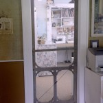 : Screen door for interior room can add more style and personality to your home