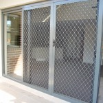 : Sliding interior security doors is a great garage solution