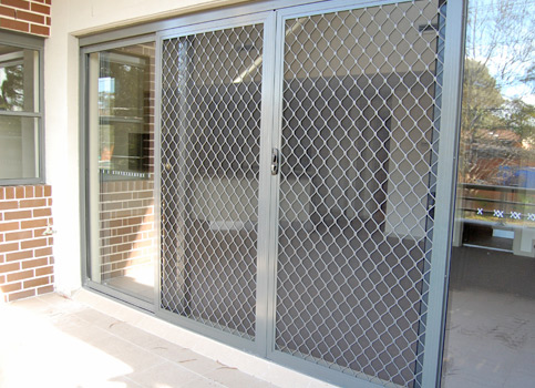 Sliding interior security doors is a great garage solution