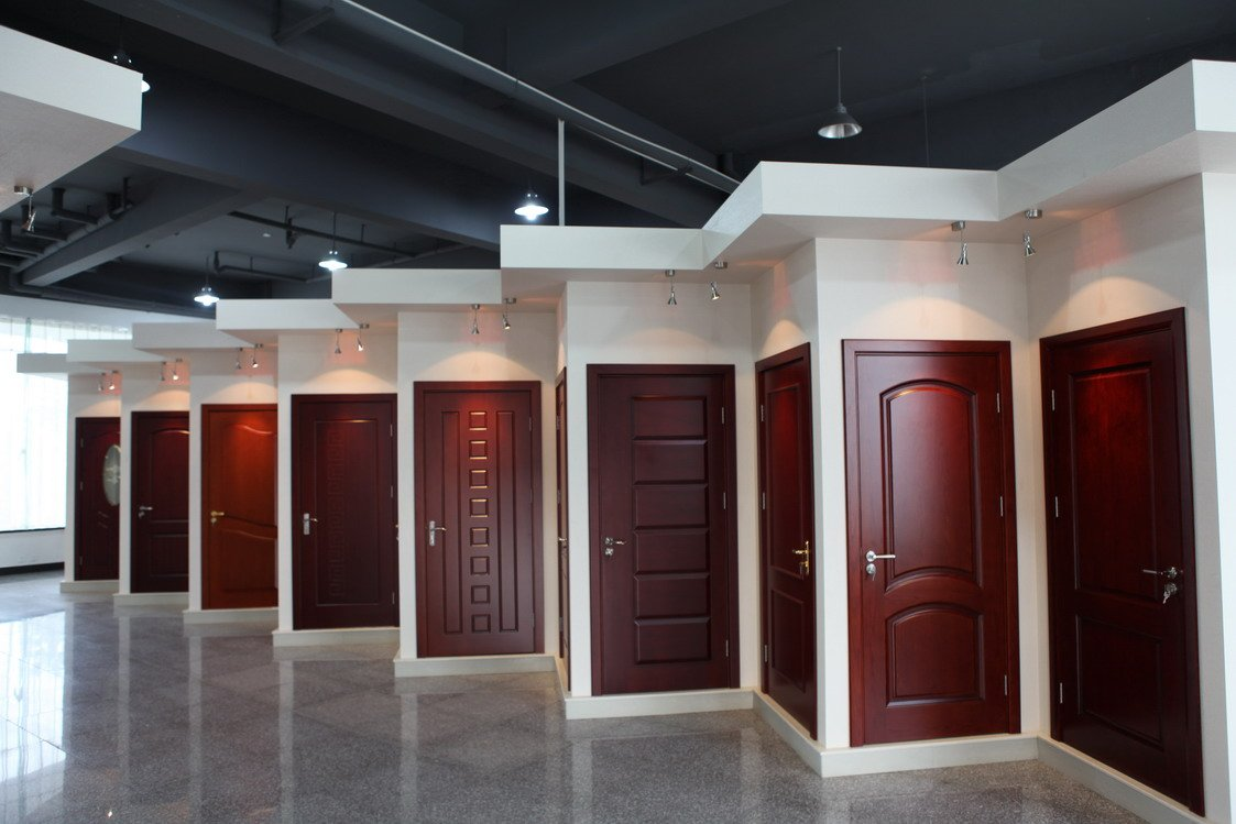 Solid interior door slabs are represented in a wide selection of styles and desings