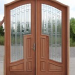 : Solid wood doors for mission style interior are qualitative in operation