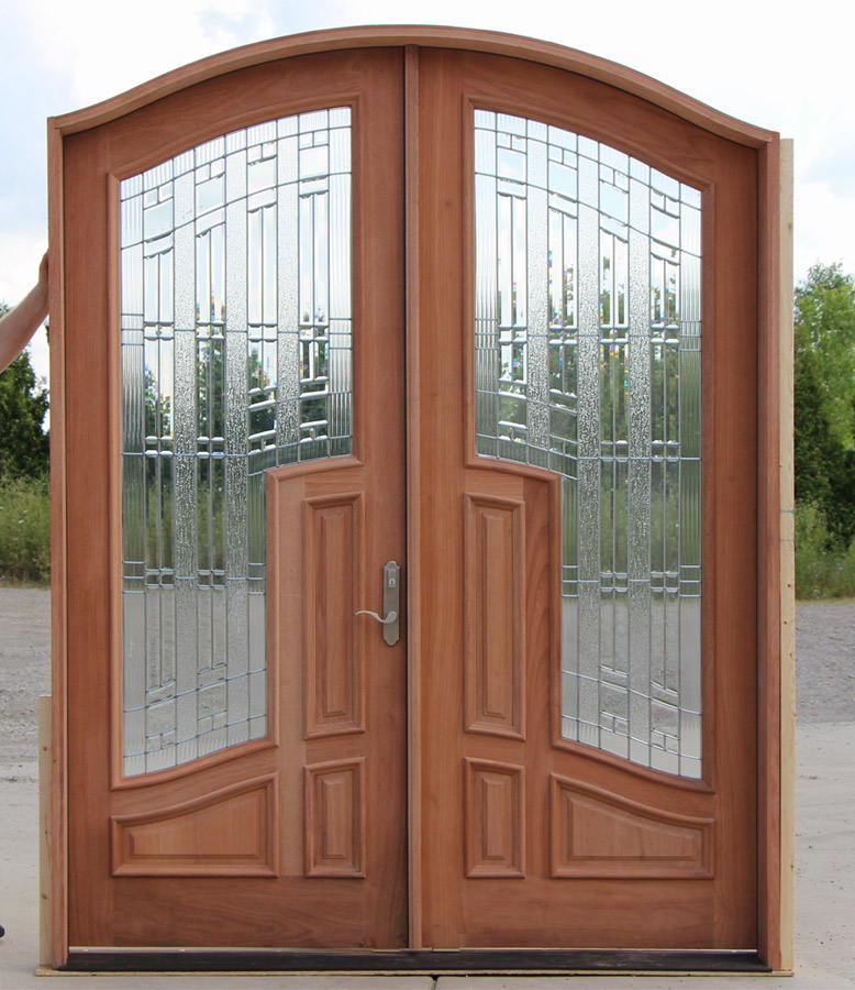 Solid wood doors for mission style interior are qualitative in operation