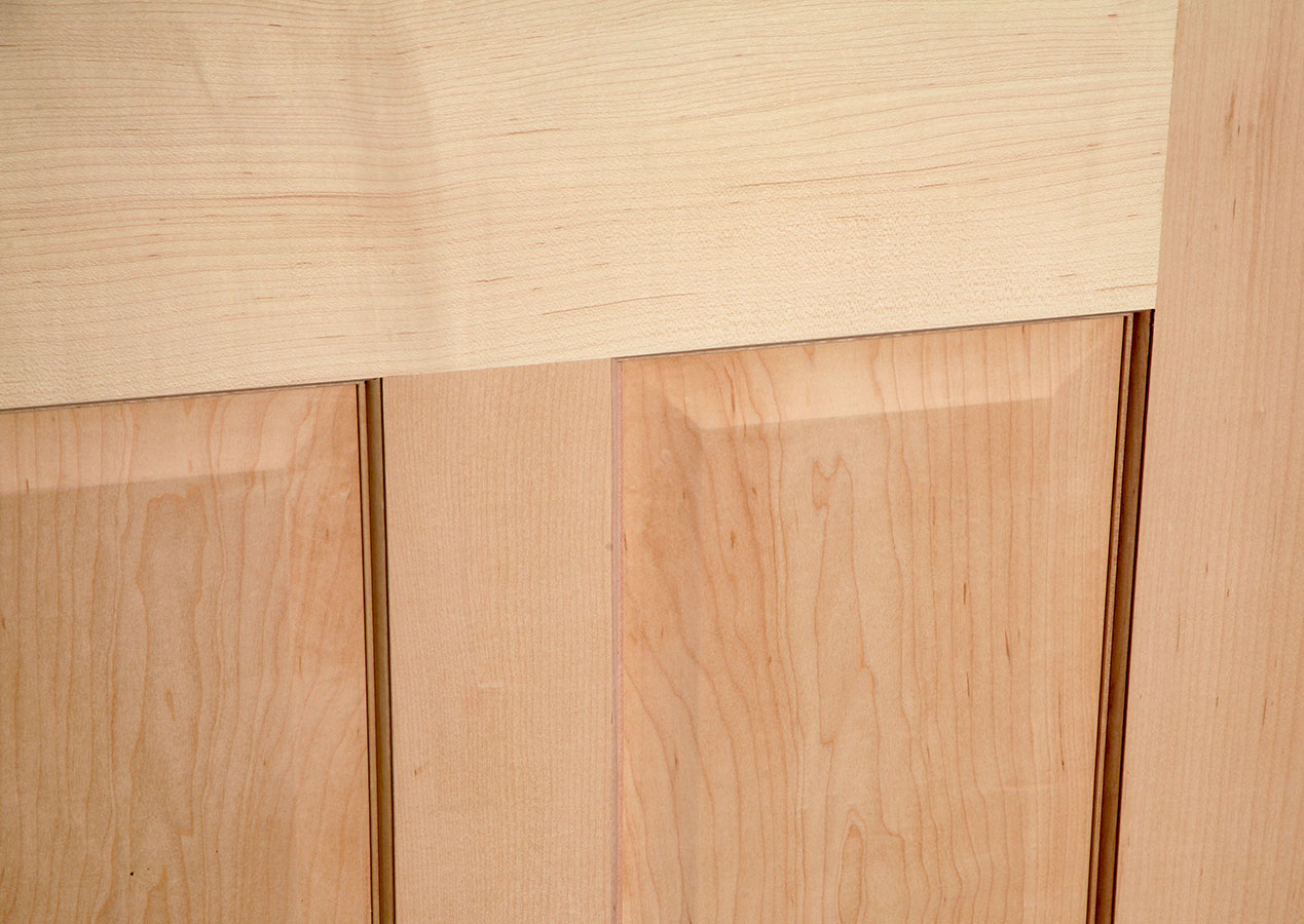 Stained maple interior doors will look gorgeous in classic interiors