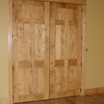 : Tiger maple interior doors will add stunning look and personality to your home