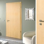 : Unfinished maple interior doors is the most popular choice for rustic interiors