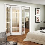 : White glass panel interior doors is the most popular choice of home owners