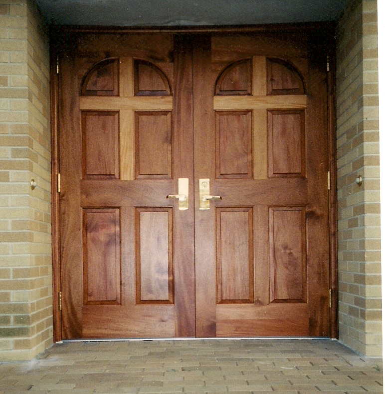 Wooden entry doors for sale have a warm and solid outlook ...