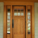 : door hardware for mission style interior has high strength