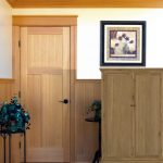 : Mission style house wood doors fit into any home design