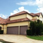 : Garage wood doors in Frisco, Texas