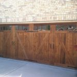 : cedar garage door and shutters texas