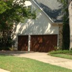 : country style cedar garage wood