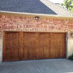 : wood garage doors flower mound